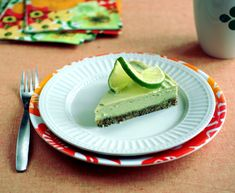 Just make sure to substitute honey for the agave recommended~ Raw Key Lime Pie from the Choosing Raw Cookbook