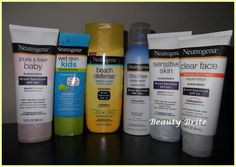Neutrogena Sunscreens #Review #beauty #skincare #sun #summer
