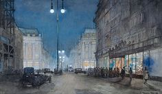 Oxford Circus by Donald Maxwell