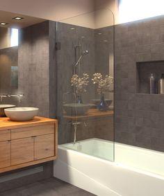 Ark Showers - Buy Frameless Bathtub Shower Screens, 100+ Models In Stock