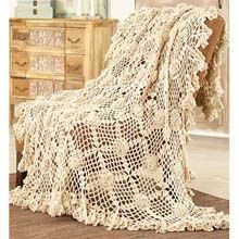 Autre-Vie Throw Crochet Pattern - Willow Yarns