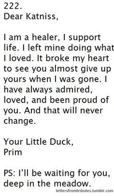 dear katniss...love prim :'(