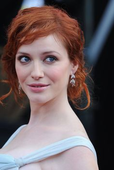 The Genteel perfection of Christina Hendricks ...... She is an American actress who plays Joan Harris on the AMC cable television series Mad Men and played Saffron on the FOX series Firefly.