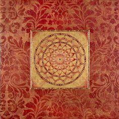 Garnet Pattern Mandala