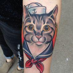 Sailor Cat by Dan Pemble