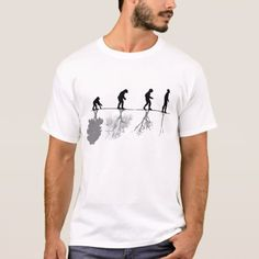 The evolution of humanity and environment T-Shirt - tap, personalize, buy right now!