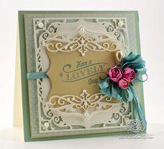 Card Making Ideas by Becca Feeken using Spellbinders Elegant Labels Four - www.amazingpapergrace.com