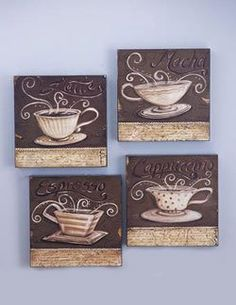 Theme Kitchen Decor On Pinterest Coffee Themed Kitchen Coffee Theme