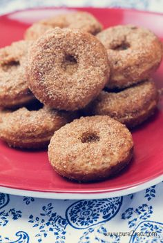 mini #vegan donut recipe