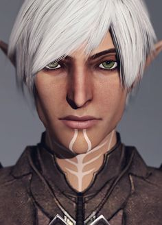 Have a very high definition Fenris because I can.