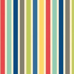 Seaside - Stripe - Red $10.75 yd