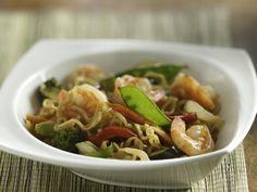shrimp Ramen noodle Recipe | Ramen Shrimp and Vegetables