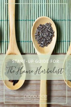 This is a 'pinner'! If you are looking to start creating your own herbal concoctions you'll love our thorough & handy start-up guide for the home herbalist!