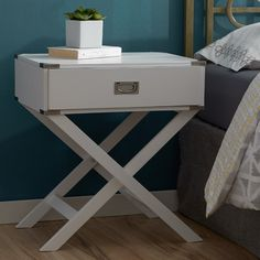 You'll love the Grey 2 Drawer End Table at Wayfair - Great Deals on all Furniture products with Free Shipping on most stuff, even the big stuff.