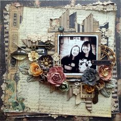 Remember - Prima's Time Traveler's Memories collection http://scrappychic-pages.blogspot.sg/2014/10/remember.html