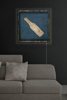 Oliver Gal Gallery Beer Sign Wood LED Lightbox