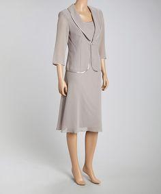 Look what I found on #zulily! Stone Shift Dress & Jacket - Women by Dana Kay #zulilyfinds