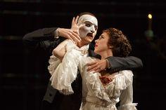 PETER JÖBACK as The Phantom and SAMANTHA HILL as Christine