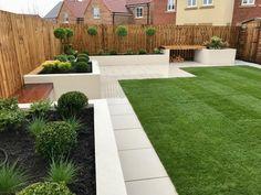 Family Garden, Garden Design, Pergola, Sidewalk, Yard, Patio, Contemporary, Landscape, House
