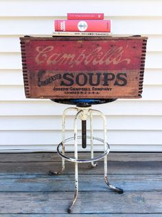 Campbell's Soup Crate Andy Warhol Style by CaribeCasualShop