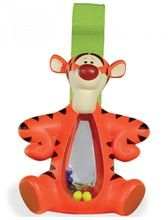 Winnie the Pooh - Shakeable Tigger.  With colourful beads in their tummies and a velcro strap to make it easy to hang onto your buggy or cot for on-the-go fun - these cute chunky rattles are guaranteed to delight your child.