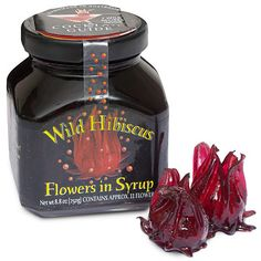 Edible Wild Hibiscus Flowers-these are SO DELICIOUS! (especially in fruity fun drinks)