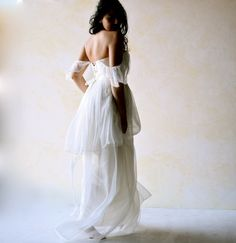 Boho Edwardin Wedding Dress .Etsy listing at https://www.etsy.com/listing/221967621/tiered-wedding-dress-boho-wedding-dress
