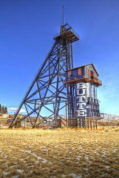 Mining Headframe - Butte, Montana