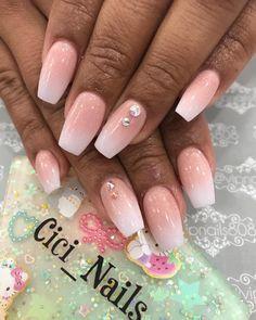Baby bloomer #nails #nail #nailsofinstagram #nailart #nailsonfleek #naildesigns #nailswag #nailstagram #hudabeauty #naildesign #nailpolish #gelnails #glitternails #allpowder #allpowdernails #miasecret