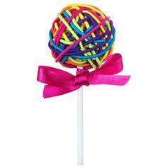 Bright Hair Tie Lollipop