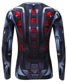 avengers age of ultron t shirt long sleeve ultron costume for sale