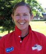 Sarah Burke attended Lincoln University on a cricket scholarship, graduating in 2003 with a Bachelor of Recreation Management.
