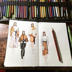 New Ideas for fashion illustration croquis artists Fashion Illustration Sketches, Illustration Mode, Fashion Sketchbook, Fashion Sketches, Fashion Design Illustrations, Fashion Studio, Fashion Art, Fashion Design Drawings, Dress Sketches
