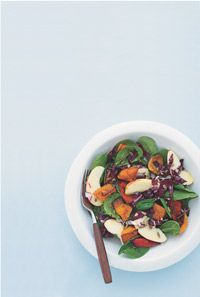 Roasted Butternut & Soinach Salad