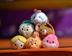 Alice in Wonderland Tsum Tsum plush set