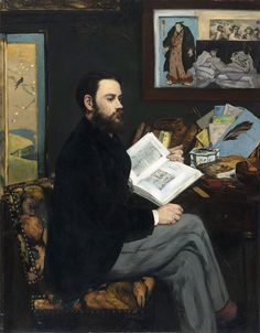 Edouard Manet - Portarit of Émile Zola