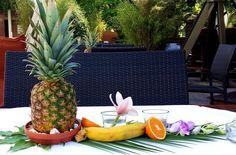 Hawaii Dekoration - Annanas - Banane - Orange - PARKS Nürnberg -  Eventdekoration - Kreativ Punkt - Dekoration & Design - Ich dekoriere Ihr Event! www.kreativ-punkt.info