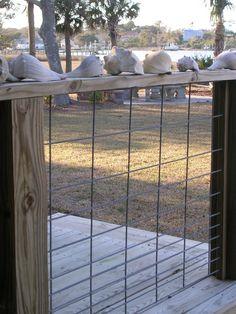 Fence Idea as a barrier for the loft.