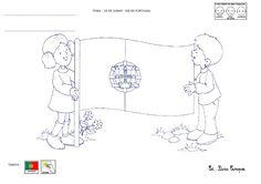 histórias da história de portugal para a infância - Pesquisa Google Junho, Artwork, Fictional Characters, King, Education, Portuguese Flag, Portugal Flag, Activities For Autistic Children, Maps