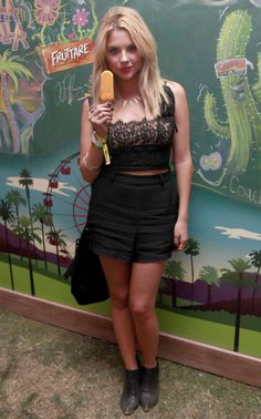 Ashley Benson: 2014 Coachella -02