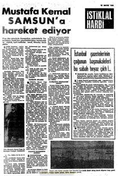 istiklal harbi gazetesi 16 mayıs (2) 1919 Turkic Languages, Semitic Languages, Turkish War Of Independence, Dna Genealogy, Newspaper, Istanbul, Nostalgia, History, Preschool