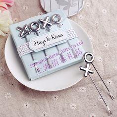 結婚式の好意の前菜xoxoピック          http://aliexpress.com/store/product/Free-Shipping-100box-Pink-Flip-Flop-Bottle-Opener-wedding-bomboniere-WJ058-B/513753_1719869702.html         #結婚式の好意 #花嫁 #festa #お土産 #卸し  #presentes