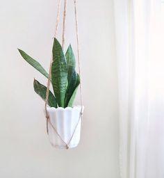 Pot pour plante jardinière support Cache-pot suspendu