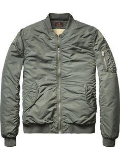 Classic Bomber Jacket | Jackets | Men's Clothing at Scotch & Soda