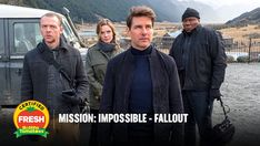 There is no limit to the impossible. Ving Rhames, Vanessa Kirby, Angela Bassett, Simon Pegg, Rebecca Ferguson, Alec Baldwin, Tom Cruise, Fallout, Movie Posters