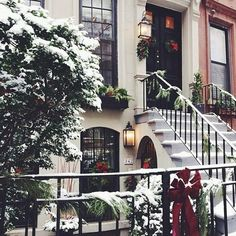 WINTER WONDERLAND  IN BEAUTIFUL  BROOKLYN  - - - - LOVE IT