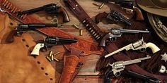 America's love affair with cowboy guns is being rekindled with new versions of the ol' shootin' iron.