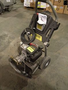 Karcher Pressure Washer- Gas. 2600psi, new grade (Sold by piece)