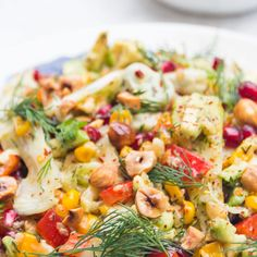 Fennel and Corn Quinoa Salad