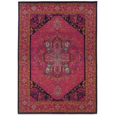 product image for Oriental Weavers Kaleidescope Contemporary Rug in Pink
